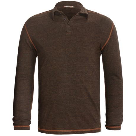 Agave Denim Nacimento Streaky Jersey Polo - Long Sleeve (For Men)
