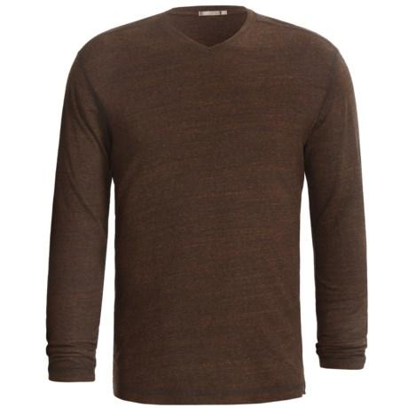 Agave Denim Kern Streaky Jersey Shirt - V-Neck, Long Sleeve (For Men)