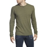 Agave Denim Pescadero Thermal Snap Crew - Long Sleeve (For Men)