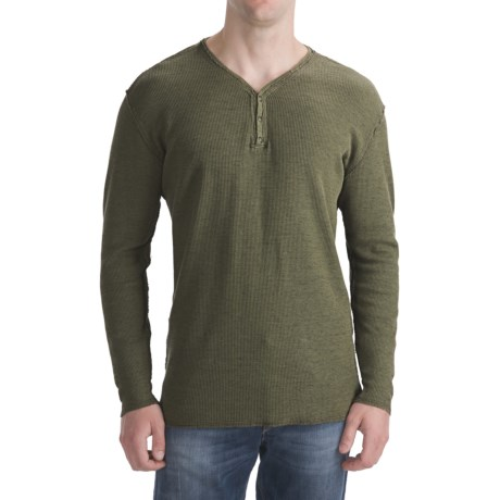 Agave Denim Alameda Space Thermal Shirt - Snap-V, Long Sleeve (For Men)