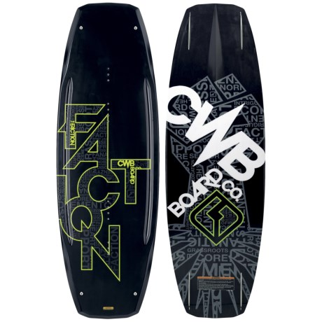 Connelly CWB Board Co. Faction Wakeboard - 2nds