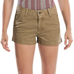 Gramicci Kona Diamond Stretch Twill Shorts (For Women)