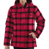 Carhartt Camden Plaid Parka - 16 oz. Wool Blend (For Women)