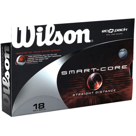 Wilson Smart Core Golf Balls - 18 Pack
