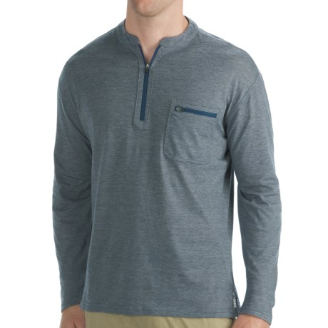 Mountain Khakis Approach Henley - UPF 50+, Long Sleeve (For Men)