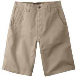 Mountain Khakis Alpine Utility Shorts - Cotton Canvas (For Men)