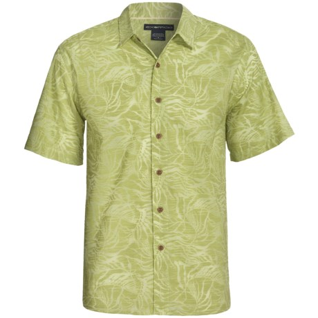 ExOfficio Next-To-Nothing Kelp Shirt - Short Sleeve (For Men)