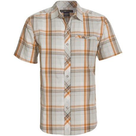 ExOfficio Roughian Macro Plaid Shirt - Short Sleeve (For Men)