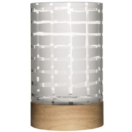 Sagaform Hurricane Vase - Frosted Glass