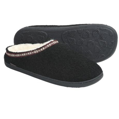 Acorn Mule Slippers - Boiled Wool (For Men)