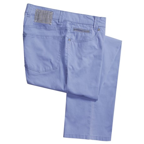 Hiltl Dolan Stretch Cotton Pants - 5-Pocket (For Men)