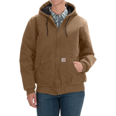 Carhartt Active Hooded Coat - Windproof (For Women)