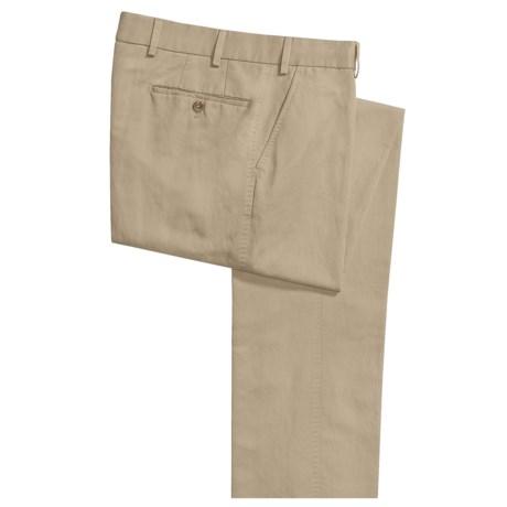 Hiltl Carmel Cotton-Linen Pants - Flat Front (For Men)
