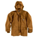 Carhartt PVC Coated Polyester Rain Coat - Waterproof (For Men)