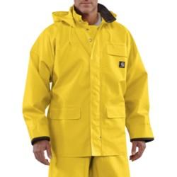 Carhartt PVC Coated Polyester Rain Coat - Waterproof (For Men)