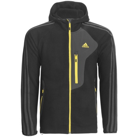 Adidas Outdoor Terrex Swift Hooded Jacket - Rib Fleece (For Men)