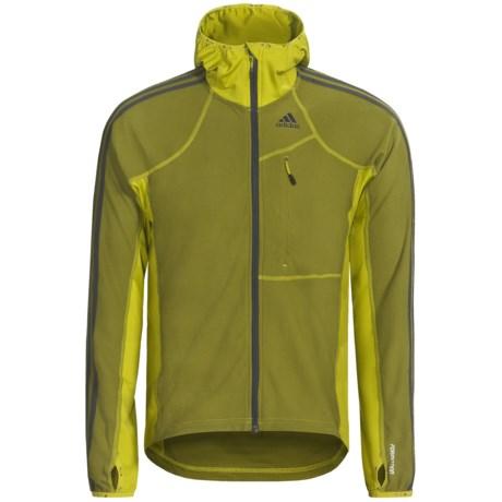 Adidas Outdoor Terrex Swift Cocona® Hooded Jacket - Fleece, UPF 50+ (For Men)