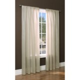 "Thermalogic Thermasheer Sheer Curtains - 84"", Pocket Top, Insulated"