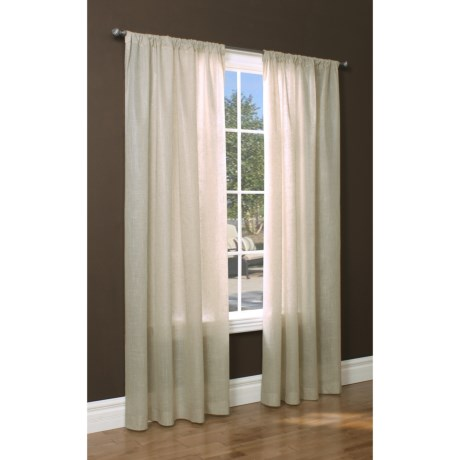 """Thermalogic Thermasheer Sheer Curtains - 84"""", Pocket Top, Insulated"""