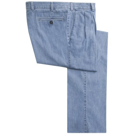 Hiltl Fresno Jeans - Pleated, Stretch Cotton (For Men)