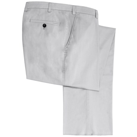 Hiltl Napa Stretch Twill Pants - Cotton-Lyocell (For Men)