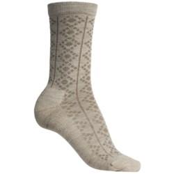 SmartWool Window Pointelle Socks - Merino Wool, Crew (For Women)
