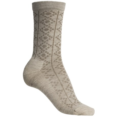 SmartWool Window Pointelle Socks - Merino Wool, Crew (For Women)