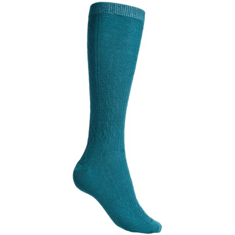 SmartWool Trellis Knee-High Socks - Merino Wool, Over the Calf (For Women)