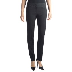 Amanda + Chelsea Contemporary Fit Fine Stripe Pants - Narrow Leg (For Women)