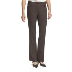 Amanda + Chelsea Salt & Pepper Contemporary Pants - Low Rise (For Women)