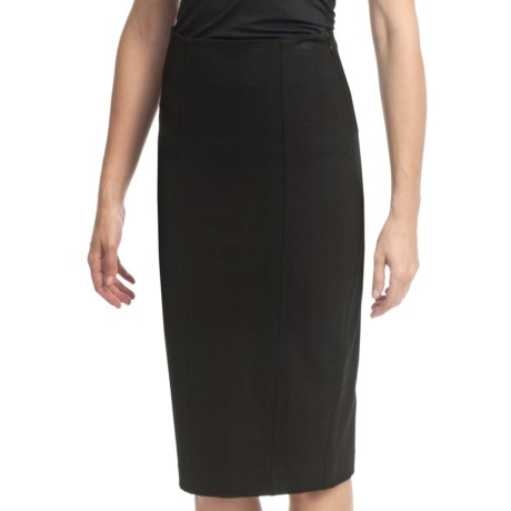 Amanda + Chelsea Ponte Knit Straight Skirt (For Women)