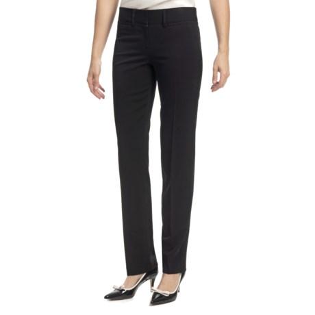 Amanda + Chelsea Ponte Baby Boot Pants - Low Rise (For Women)