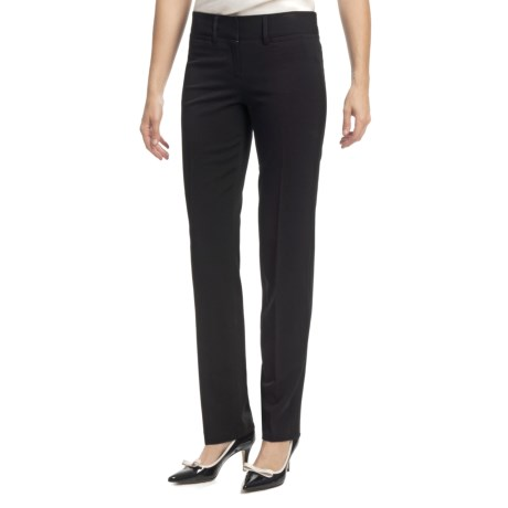 Amanda + Chelsea Ponte Baby Boot Pants - Low Rise (For Women)