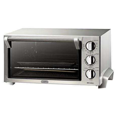 Delonghi 6-Slice Toaster Oven - Stainless Steel