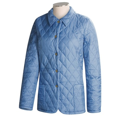 Barbour Shaped Flyweight Quilt Jacket - Short, Insulated (For Women)