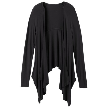 prAna Ruffle Wrap - Long Sleeve (For Women)