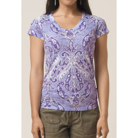 prAna Fleur Burnout T-Shirt - Short Sleeve (For Women)