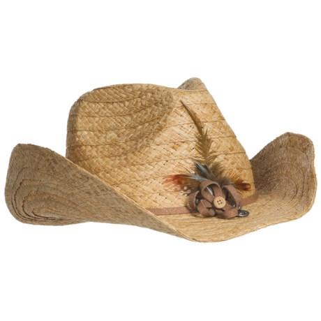 prAna Lindsey Cowboy Hat - Straw (For Women)