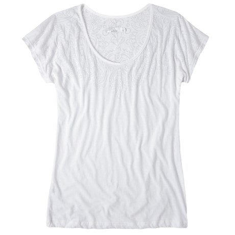 prAna Chelsea T-Shirt - Heathered Jersey, Short Sleeve (For Women)