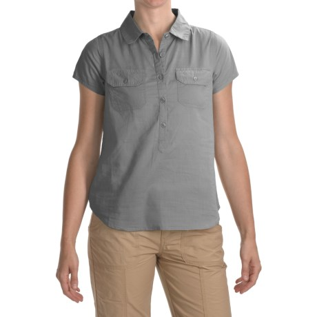 prAna Addison Shirt - Short Sleeve (For Women)