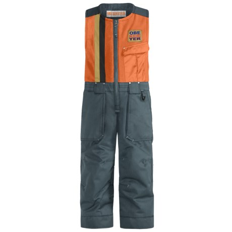 Obermeyer Chill Factor Snow Bib Overalls - Insulated (For Boys)