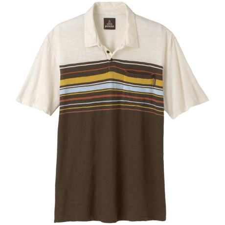 prAna Marco Polo Shirt -  Slub Organic Cotton, Short Sleeve (For Men)