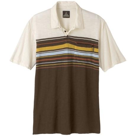 prAna Marco Polo Shirt -  Slub Organic Cotton, Short Sleeve (For Men)