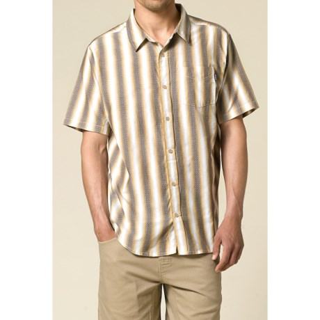 prAna Mambo Shirt - Cotton Dobby, Short Sleeve (For Men)