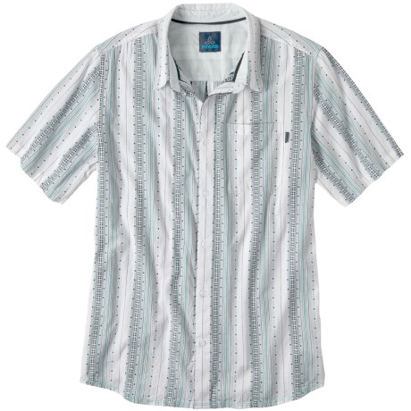 prAna Carillo Shirt - Organic Cotton, Short Sleeve (For Men)