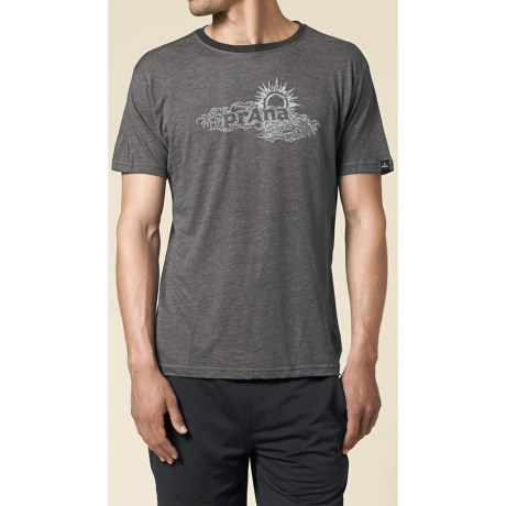 prAna Sun Heathered T-Shirt - Short Sleeve (For Men)