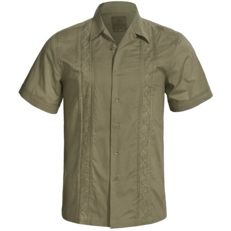 prAna Havana Shirt - Cotton, Short Sleeve (For Men)