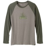 prAna Radiant Heathered T-Shirt - Long Sleeve (For Men)