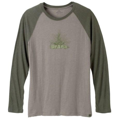 prAna Radiant Heathered T-Shirt - Long Sleeve (For Men)