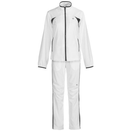 Wilson Woven Warm-Ups - UPF 30+, Two-Piece Set (For Women)